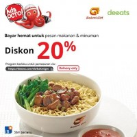 Diskon 20% (CIMB)