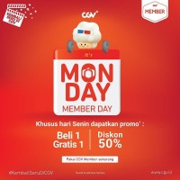Monday Member Day