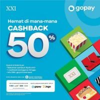 Cashback 50% (GoPay)