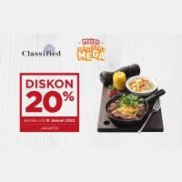 Diskon 20% (Mega)