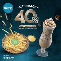 Cashback 40% (GoPay)