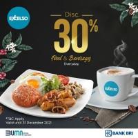 Diskon 30% (BRI)