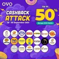 Cashback 50% (OVO)