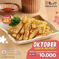 Promo Spicy Seaweed Crinkle Fries