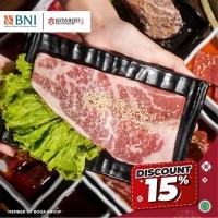 Diskon 15% (BNI)