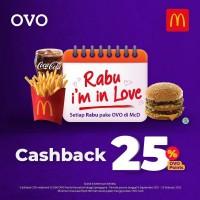 Cashback 25% (OVO)