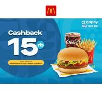 Cashback 15K (GoPay)