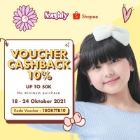 Voucher Cashback 10%
