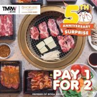 Pay 1 For 2 (TMRW)