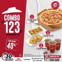 Promo HUT COMBO 123