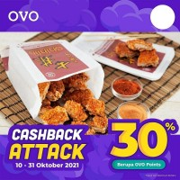 Cashback 30% (OVO)