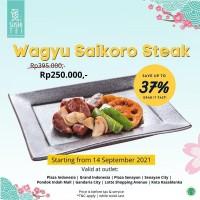 Diskon Wagyu Saikoro Steak