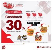 Cashback 30% (CIMB)