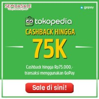 Cashback Hingga 75K (GoPay)