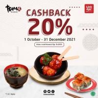 Cashback 20% (LinkAja)