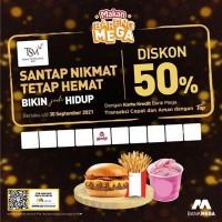 Diskon 50% (Mega)