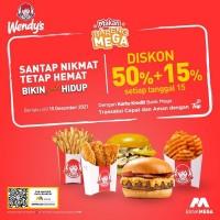 Diskon 50% + 15% (Mega)