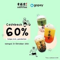 Cashback 60% (GoPay)