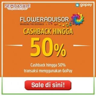 Cashback Hingga 50% (GoPay)