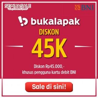 Diskon 45K (BNI)