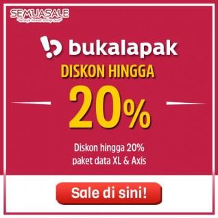 Diskon Paket Data XL & Axis