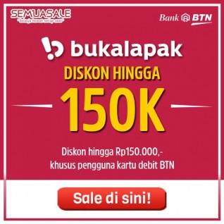 Diskon Hingga 150K (BTN)