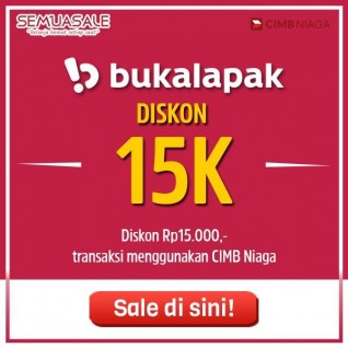 Diskon 15K (CIMB)
