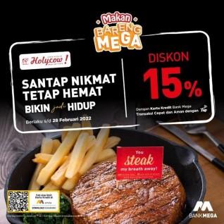 Diskon 15% (Mega)