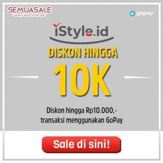 Diskon Hingga 10K (GoPay)