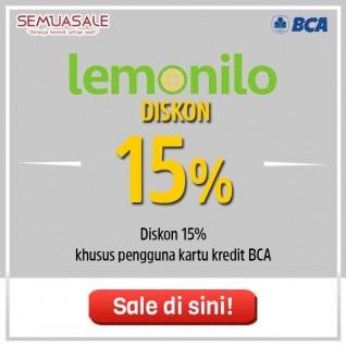 Diskon 15% (BCA)