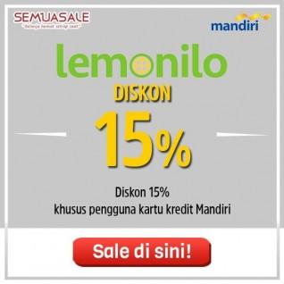 Diskon 15% (Mandiri)