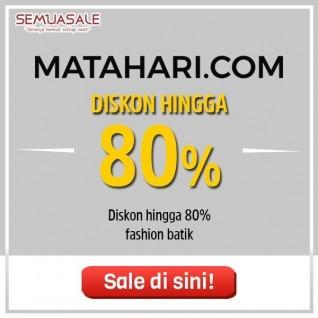 Diskon Fashion Batik