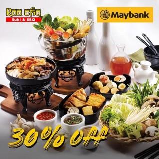 Diskon 30% (Maybank)