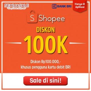 Diskon 100K (BRI)