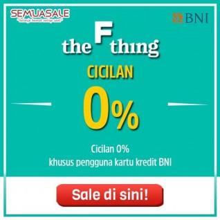Cicilan 0% (BNI)