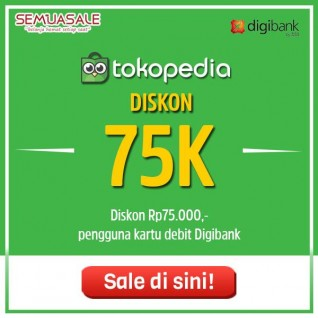 Diskon 75K (Digibank)