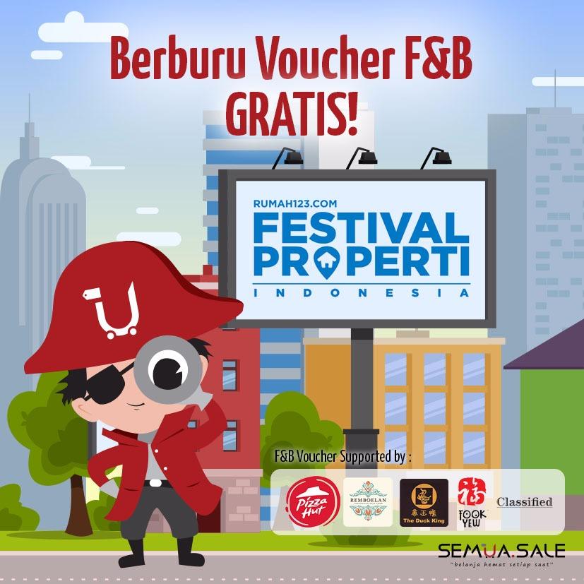 Semua.Sale Bagi-bagi Voucher di Festival Properti Indonesia by Rumah123